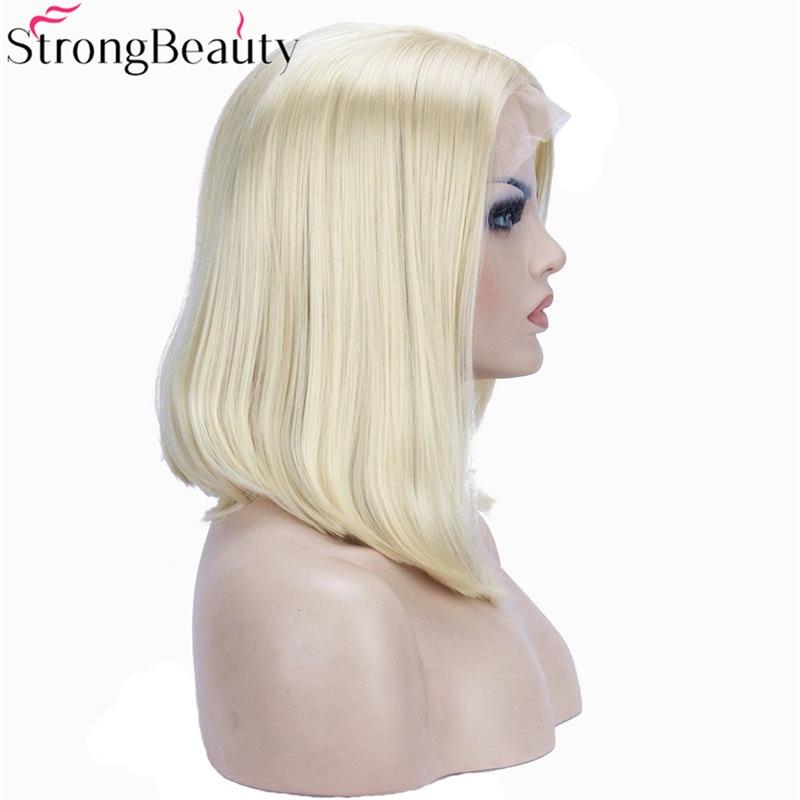 Strongbeauty Σύντομη βαμβακερή περούκα - Συνθετικά μαλλιά - Φωτογραφία 1