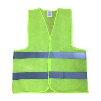 1 шт. 60gsm L-XXXL светоотражающий жилет рабочая одежда обеспечивает высокую видимость День Ночь для Бег Велоспорт предупреждение Детская безопа...