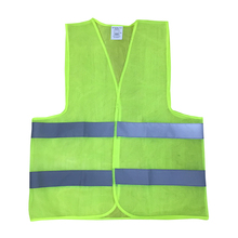 Car Plus Size L-XXXL Reflective Vest Working Clothes Provides High Visibility Day  Night For Running Cycling Warning Safety vest