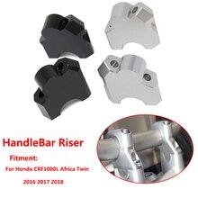 Para Honda CRF1000L África doble 2016, 2017 de 2018 de la motocicleta de la barra de la manija para planteó extender del montaje del manillar Riser 40mm
