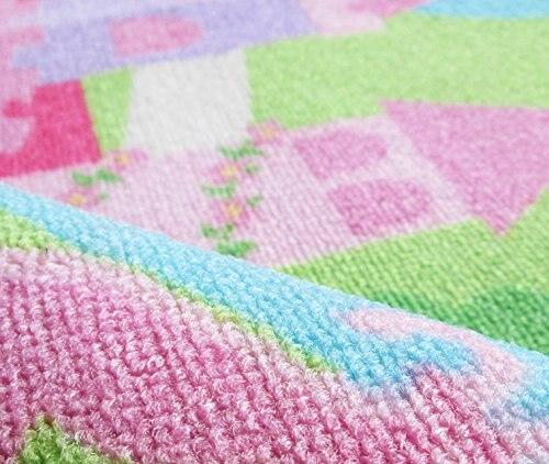 Nouveaux tapis et tapis élégants modernes pour tapis de salon de bébé tapis et tapis roses de bande dessinée en Nylon pour le salon à la maison d'enfants