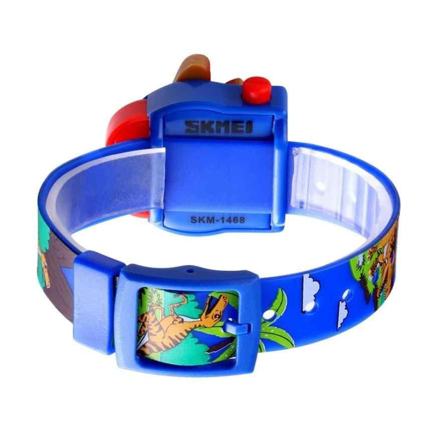 SKMEI Интересные детские часы модные красивые детские часы Креативный динозавр модель мальчиков и девочек Любовь montre enfan ребенок 1468