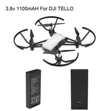 цена на DJI Tello Flight Battery Accessories 1100 mAh 3.8 V For DJI Tello Drone Flight Battery Accessories Toy Drone Flying Battery