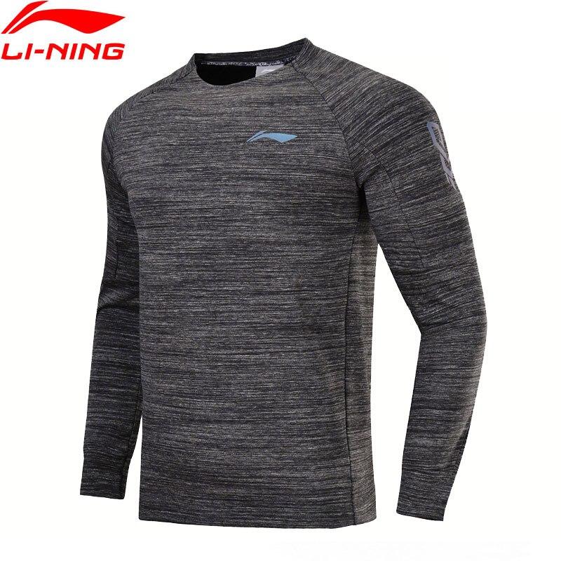 Li-ning Männer Basketball Serie Pullover 100% Baumwolle Komfort Regelmäßige Fit Futter Sport Übung Mantel Awdn025 Mww1376 Volumen Groß Sport & Unterhaltung Sportbekleidung