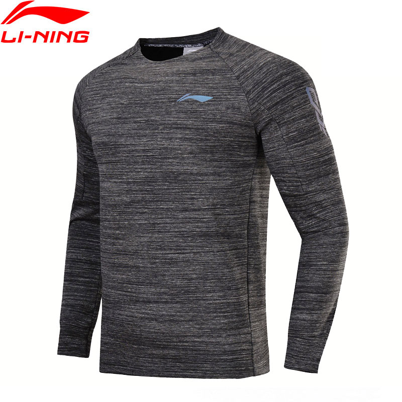Li-Ning Men Basketball Series Sweater 100% Cotton Comfort Regular Fit LiNing Sports Exercise Coat AWDN025 MWW1376 li ning men s professional basketball shoes speed