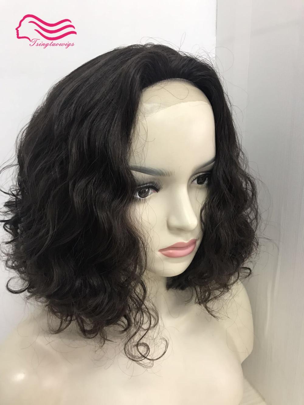 Tsingtaowigs slight layer front lace kosher wig 100 European virgin hair jewish wig kosher wig Best