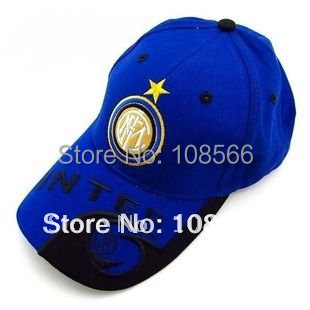Inter Milan blue football team cap / visor/baseball cap