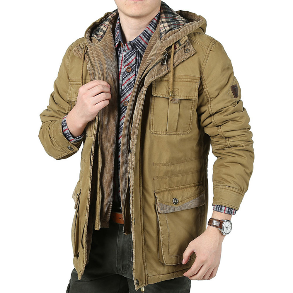 Online Shop 2015 New Arrival Winter Men's Thick Jackets Slim Fit ...