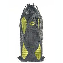 Mesh Pouch Drawstring Bag Nylon Breathable Storage Sack Outdoor Diving Snorkeling Fins Footwear Device Organization Accessories magideal heavy duty mesh duffel bag storage pouch for scuba diving snorkeling black pink