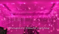 2020 Christmas Tree Good!agritainment Decoration Festival Lighting Wedding Celebration Product 0.75*8m Butterfly Led Lamp H205