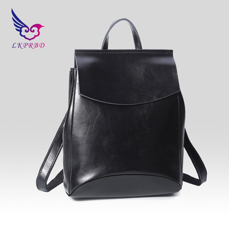 Leather women's bag 2018 popular new fashions of European and American fashion ladies leather backpack shoulder bag цена
