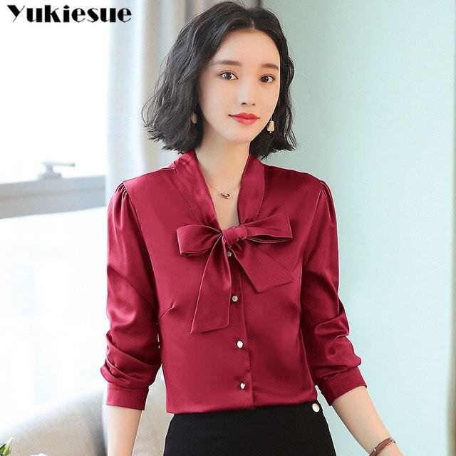 women's blouse shirt women blusas womens tops and blouses fashion woman blouses 2019 long sleeve blusas ladies tops Plus size 1
