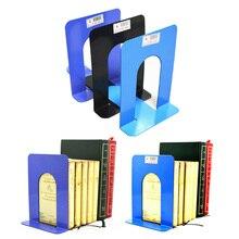 1 пара простая складная переносная металлическая полка для книг держатель для дома канцелярские принадлежности, школьные офисные канцелярские принадлежности