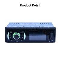 LCD Display SD MMC USB Auto Audio Car Bluetooth MP3 Universal Premium Car In Dash Stereo Radio Vehicle