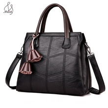 Doctor Pu Leather Bags For Women Totes Handbags & Crossbody Single Fashion Geometric Zipper Soft Silt Pocke Handbag