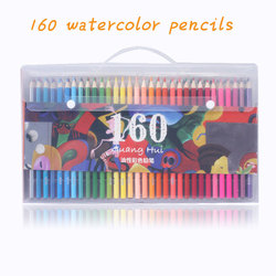 160 Pastel Pencils Soft Watercolor Pencils Wood Coloured Pencils Set For Drawing Painting Sketch Art Supplies gifts for kids