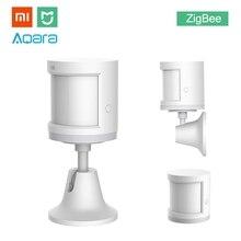 Xiaomi Aqara MIJIA Human Body Sensor ZigBee Version Wireless WiFi With Holder Smart Mi Home APP for Gateway Hub iOS Android