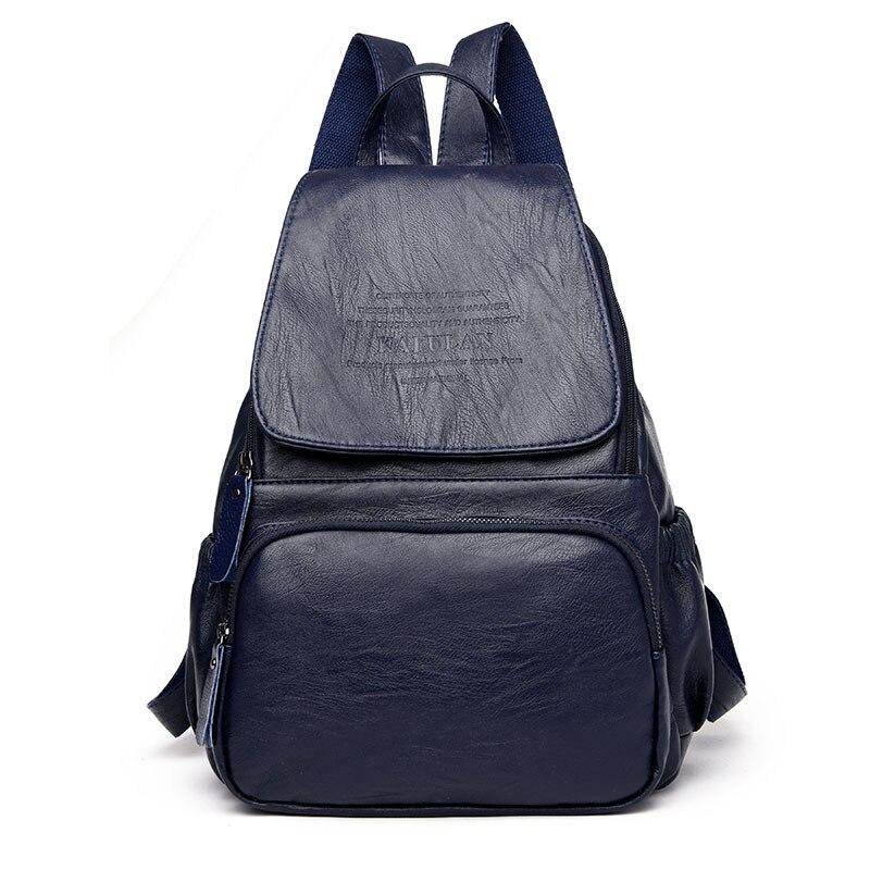 Fashion Women Backpack Leather Casual Womens Backpacks Shoulder Bag School Bags For Teenagers Girls Mochila Rucksack Travel BagFashion Women Backpack Leather Casual Womens Backpacks Shoulder Bag School Bags For Teenagers Girls Mochila Rucksack Travel Bag