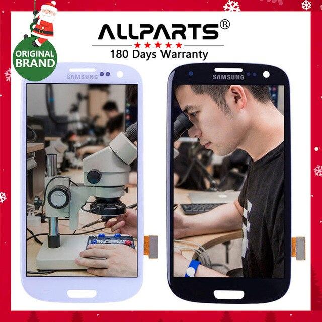 ORIGINAL 4.8'' AMOLED LCD for SAMSUNG Galaxy S3 LCD Display GT-i9300 i9300 i9301 i9301i i747 i535 Display Touch Screen Digitizer