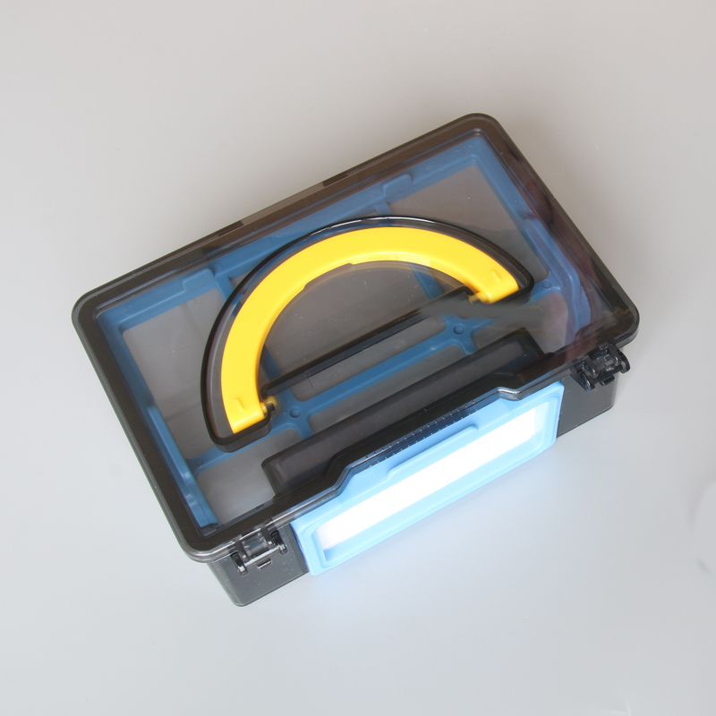 dust box*1+HEPA Filter*1 for ilife v55 robot vacuum cleaner Parts 6pcs preformance robot parts dust hepa filter