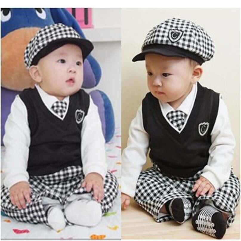 Top Novo uniforme escolar outono crianças roupas grade terno camisa +  RD14
