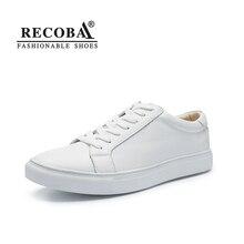 Männer schuhe casual weiß schwarz luxus marke big size atmungs echtem leder flache skate schuhe slip ons zapatos hombre