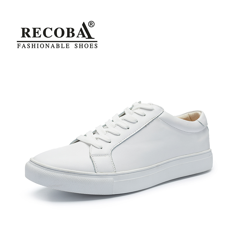 Men shoes casual white sneakers male luxury brand big size genuine leather flat skate shoes slip ons zapatos hombre boy sneakers