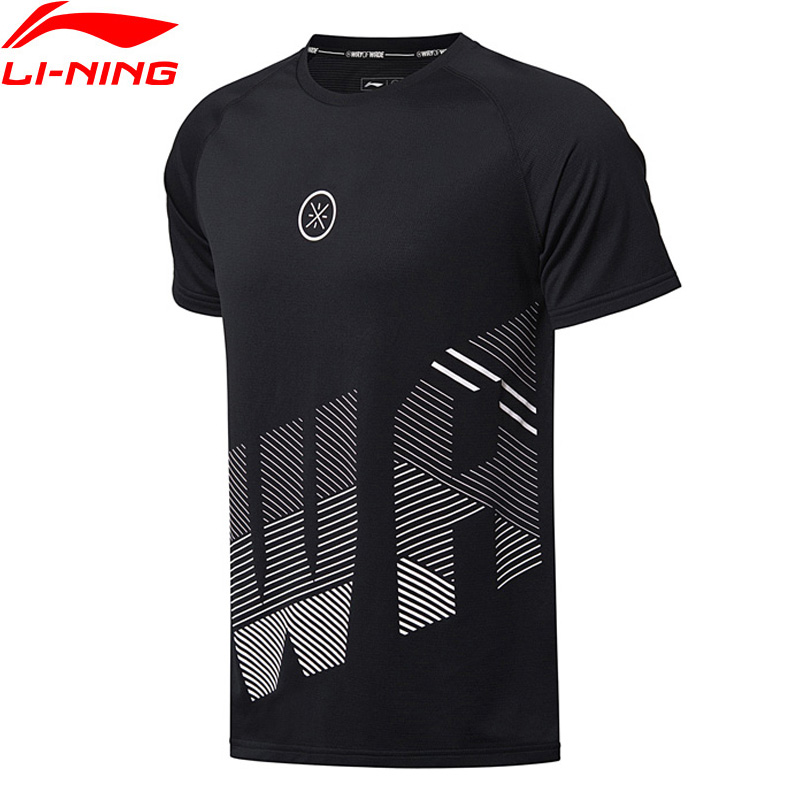 Li-Ning Men Wade Series Basketball Jersey T-Shirts Polyester Regular Fit LiNing Sport T-Shirt Tee ATSN019 MTS2722