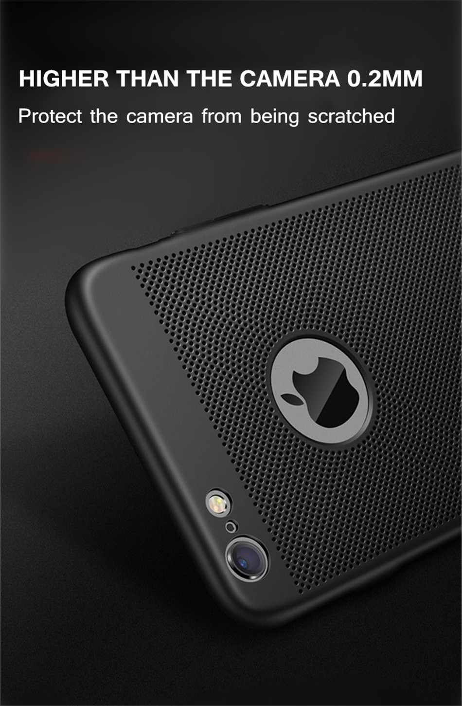 Heat dissipation iPhone Case - Hard Back PC Protect Shell 8
