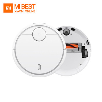 Original XIAOMI MI Robot Vacuum Cleaner for Home Automatic Sweeping Dust Sterilize Smart Planned Mobile App Remote Control new xiaomi mijia robot vacuum cleaner 1s 2 for home wifi app smart planned automatic sweeper dust sterilize cyclone suction