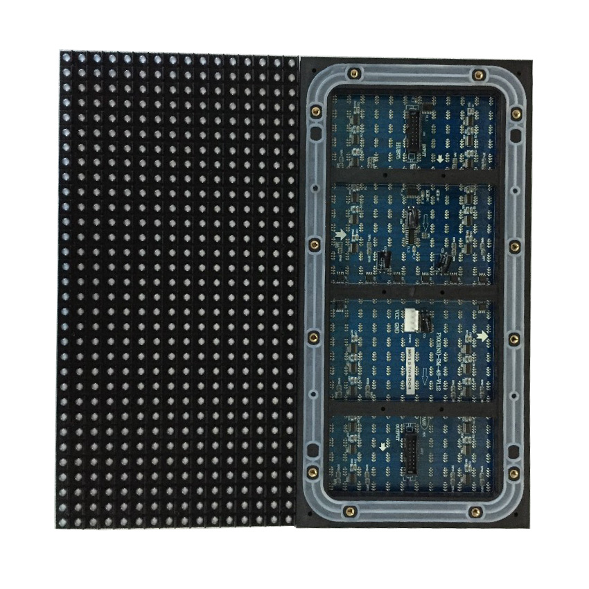 P10 32x16 pixels outdoor full color DIP led module video wall  P2.5 P3 P4 P5 P6 P8 P10 rgb LED panel display for advertising