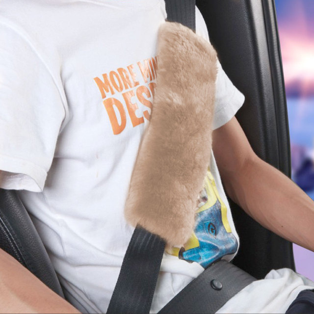 2Pcs Soft Car Seat Belt Shoulder Pad Safety Strap Covers For Child Kids Adults