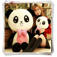 Panda Plush animals big eyes toys girls teddy bears doll spongebob toys for children panda teddy bear cute pillow birthday gift