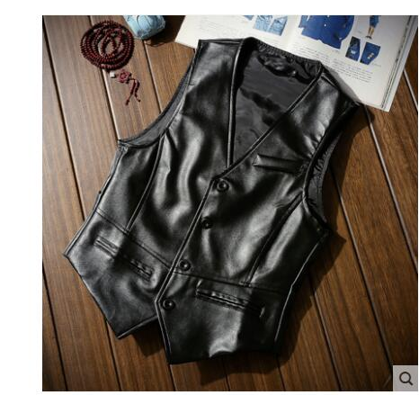Vest Men's New British Autumn Youth Self-Cultivation The-Trend Leisure of Korean-Version