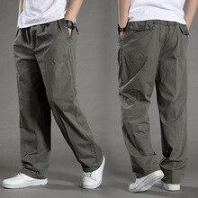 Мужские шаровары tactica брюки провисающие хлопковые брюки мужские брюки размера плюс спортивные брюки мужские повседневные брюки для пробежек 6XL