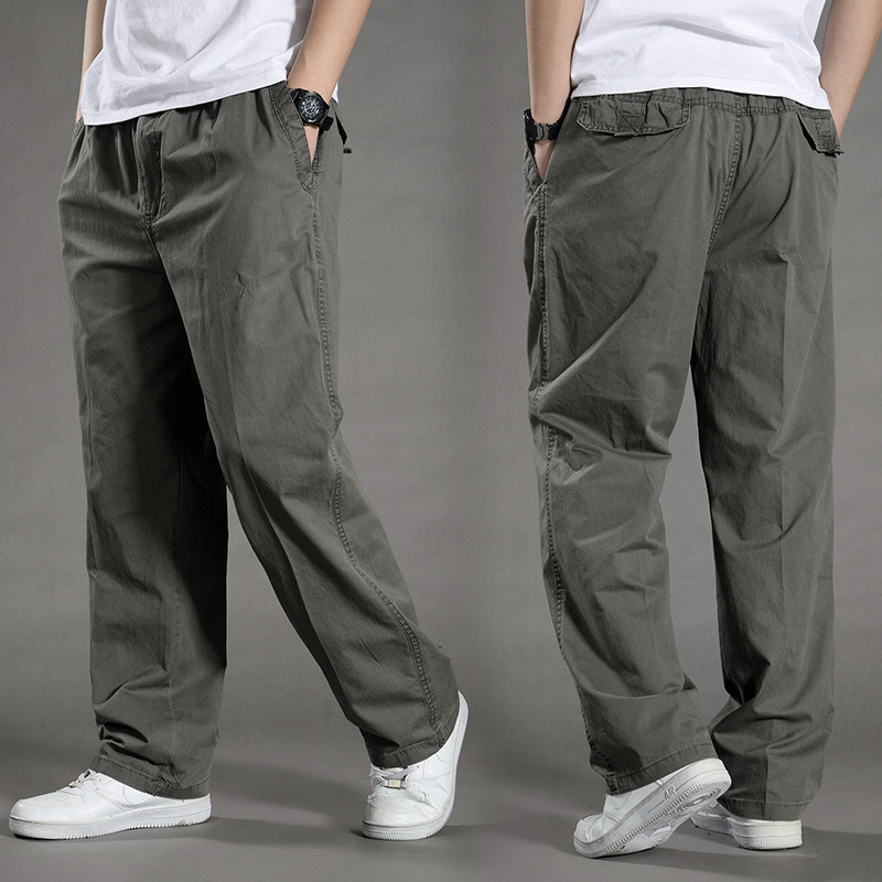 Men Harem Tactica Pants 2019 Sagging Cotton Pants Men Trousers Plus Size Sporting Pant Mens Joggers Casual Pants 6XL
