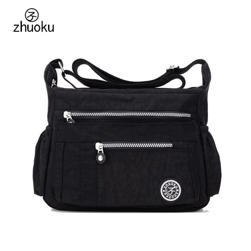 Bags for women 2017 Shoulder Messenger Bag Waterproof Nylon Female Handbag Crossbody bags for Women ZK6046