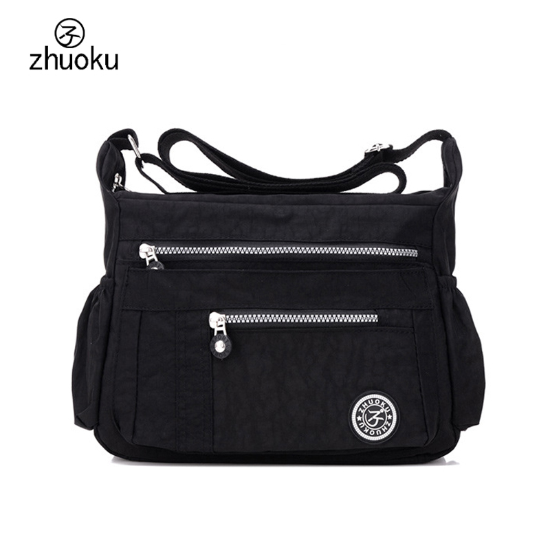 цены на Bags for women 2017 Shoulder Messenger Bag Waterproof Nylon Female Handbag Crossbody bags for Women ZK6046 в интернет-магазинах