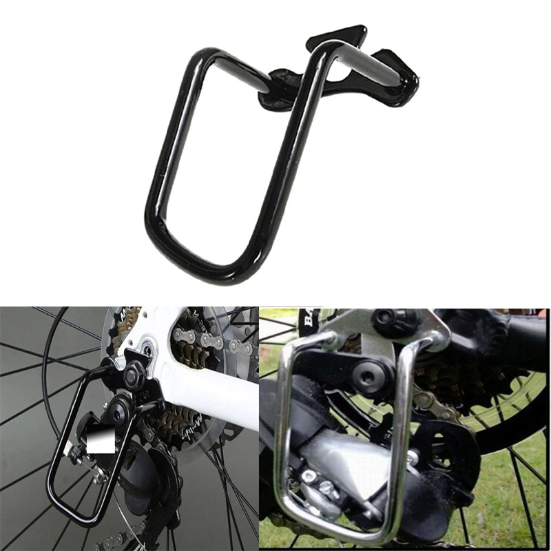 Hot Bike Protection Cover Iron Bicycle Cycling Rear Derailleur Chain Guard Protective Guard Aluminum Frame Bicycle Protector