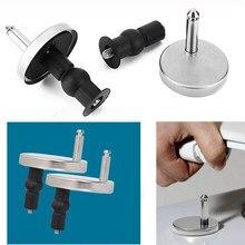 2 peças de substituição assento do toalete dobradiças montagens conjunto dobradiça acessórios parafusos para acessórios toalete ferramentas reparo