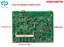 Newest motherboard itx industrial with core I5 2430M CPU 2.4GHz PCM3-QM77B