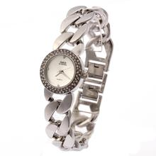 цены на 2016 Fashion G&D New Ladies Wrist Watch Stainless Silver Bracelet Watch Women's Quartz Analog Wrist Watches  в интернет-магазинах