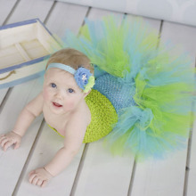 Baby Mermaid Ariel Fishtail Tutu Dress Infant Toddler Princess Fancy Dress Up Girls Kids Ballet Tutu