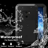 For Xiaomi Mi Mix 2 Case Luxury Hard Shockproof Waterproof Case For Xiaomi Mi Mix 2
