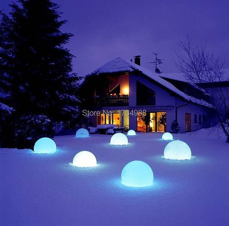 Free Shipping 20cm IP68 LED Floating Ball/LED Magic Ball Led Illuminated Swimming Pool Ball Light