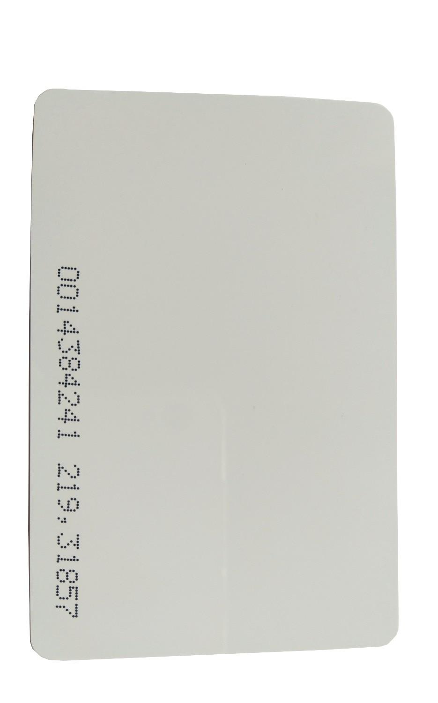 100 шт./лот RFID 125 кГц EM 4100 TK4100 Реакция удостоверение личности ПВХ Пластик 125 кГц rfid-карты для доступа Управление рабочего времени