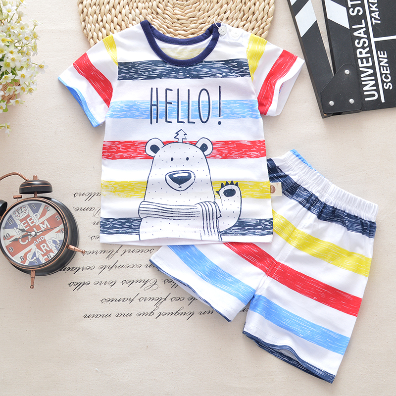 2018 spring summer Cotton Baby Boys Clothing Sets Children cartoon car 2pcs tops + pants Kids formal Clothes Suits casual kids hoodies clothes boys clothing 2pcs cotton shirt pants toddler boys clothing children suits baby boy clothes sets
