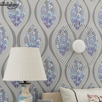 Simple Non Woven Modern Vertical Striped Wallpaper Warm Bedroom Study Living Room Background Wall Environmental Protection