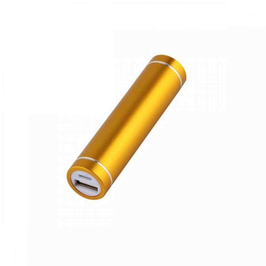 נייד נייד כוח תיבת מיני גלילי כוח בנק מקרה טלפון גנרי חיצוני סוללה מטען אלומיניום סגסוגת דיור DIY קיט