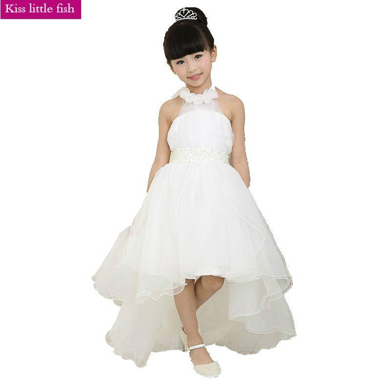 Free shipping flower girl dresses for weddings elegant for Sell your wedding dress fast